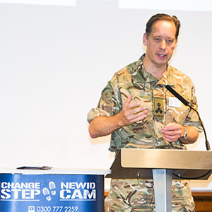 Change Step Launch – A Step in the right direction for Wales' military veterans